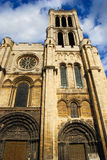 Basilica Saint Denis Tower. Paris, France Royalty Free Stock Image