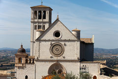 Basilica of Saint Francis, Assisi Royalty Free Stock Images