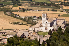 Basilica of Saint Francis in Assisi Royalty Free Stock Images