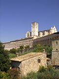 Basilica of Saint Francis of Assisi Royalty Free Stock Photos
