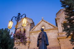 Basilica of Saint Francis of Assisi Stock Images