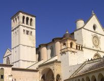 Basilica of Saint Francis of Assisi Stock Photos