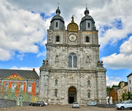 Basilica Saint Hubert Royalty Free Stock Images