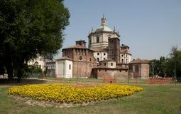Basilica of Saint Lawrence (San Lorenzo) Stock Images