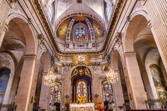 Basilica Saint Louis En L'ile Church Paris France Royalty Free Stock Image