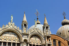Basilica of Saint Mark in Venice Stock Image