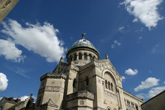 Basilica of Saint-Martin, Tours, France Royalty Free Stock Images