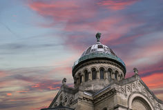 Basilica of Saint-Martin, Tours, France Stock Images