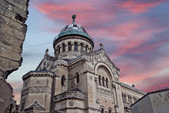 Basilica of Saint-Martin, Tours, France Royalty Free Stock Image