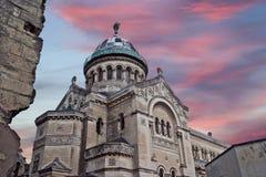 Basilica of Saint-Martin, Tours, France Royalty Free Stock Image