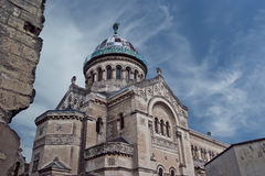 Basilica of Saint-Martin, Tours, France Royalty Free Stock Photography