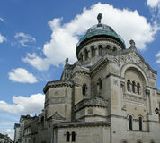 Basilica of Saint-Martin, Tours, France Stock Photo