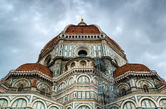 The Basilica of Saint Mary of the Flower in Florence, Italy Royalty Free Stock Photos