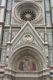 Basilica Saint Mary of the Flower in Florence, Italy Stock Image