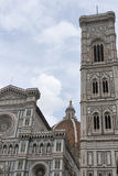 Basilica Saint Mary of the Flower in Florence, Italy Royalty Free Stock Images