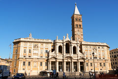 Basilica of Saint Mary Major in Rome Stock Images