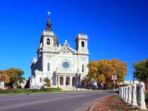 Basilica of Saint Mary in Minneapolis. First basilica in america, Basilica of Saint Mary in Minneapolis Stock Photo