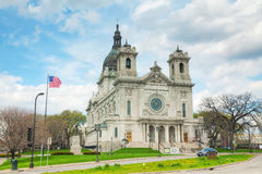 Basilica of Saint Mary in Minneapolis, MN Royalty Free Stock Image
