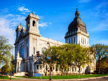 Basilica of Saint Mary in Minneapolis, MN Stock Photo