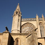 Basilica Saint-Nazaire in Carcassonne Stock Images