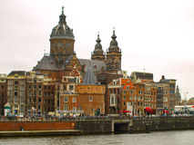 Basilica of Saint Nicholas in Amsterdam Stock Images