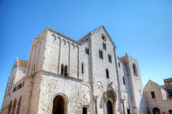 Basilica of Saint Nicholas. Bari Stock Images