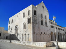 The Basilica of Saint Nicholas. Bari. Apulia. Stock Photography