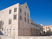 The Basilica of Saint Nicholas. Bari. Apulia. Royalty Free Stock Photos