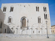 Basilica of Saint Nicholas. Bari. Apulia. Royalty Free Stock Photography