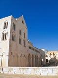 The Basilica of Saint Nicholas. Bari. Apulia. royalty free stock image
