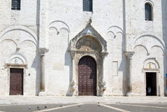 The Basilica of Saint Nicholas in Bari (fragment) Royalty Free Stock Photography