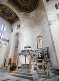 Basilica of Saint Nicholas in Bari, Puglia, Italy Royalty Free Stock Photo