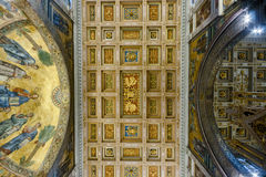 Basilica of Saint Paul Outside the Walls Royalty Free Stock Images