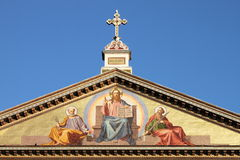 Basilica of Saint Paul outside the walls Royalty Free Stock Image