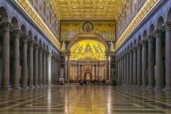 Basilica of Saint Paul, Rome Stock Image