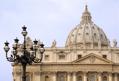 Basilica of Saint Peter. Vatican Rome Royalty Free Stock Photography