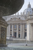 Basilica of Saint Peter in Rome Royalty Free Stock Photo