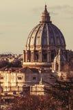 Basilica of Saint Peter, Rome. Italy Royalty Free Stock Image