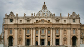 Basilica of Saint Peter Royalty Free Stock Photography