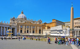 Basilica of Saint Peter in Vatican City, Italy Stock Image