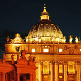 Basilica of Saint Peter in Vatican City, Italy Stock Photos
