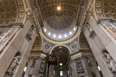 Basilica of saint Peter, Vatican city, Vatican Royalty Free Stock Images