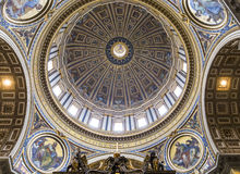 Basilica of saint Peter, Vatican city, Vatican Royalty Free Stock Photo