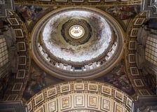 Basilica of saint Peter, Vatican city, Vatican Royalty Free Stock Images
