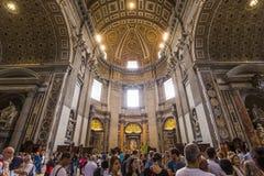 Basilica of saint Peter, Vatican city, Vatican Stock Photos
