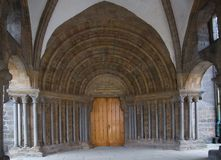 Basilica Saint Prokopius  in Trebic Royalty Free Stock Photography