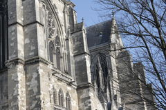 Basilica Saint Quentin in France Stock Photography