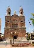 Basilica, in Saint-Raphael, France royalty free stock image