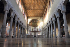 Basilica of Saint Sabina in Rome Stock Image