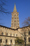 Basilica of Saint Sernin in Toulouse,. France Royalty Free Stock Images